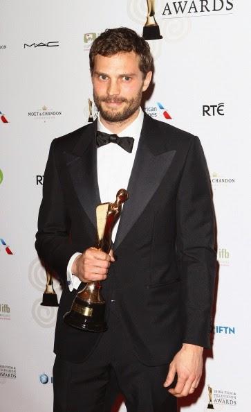 Jamie Dornan in Thom Sweeney - Irish Film And Television Awards 2014