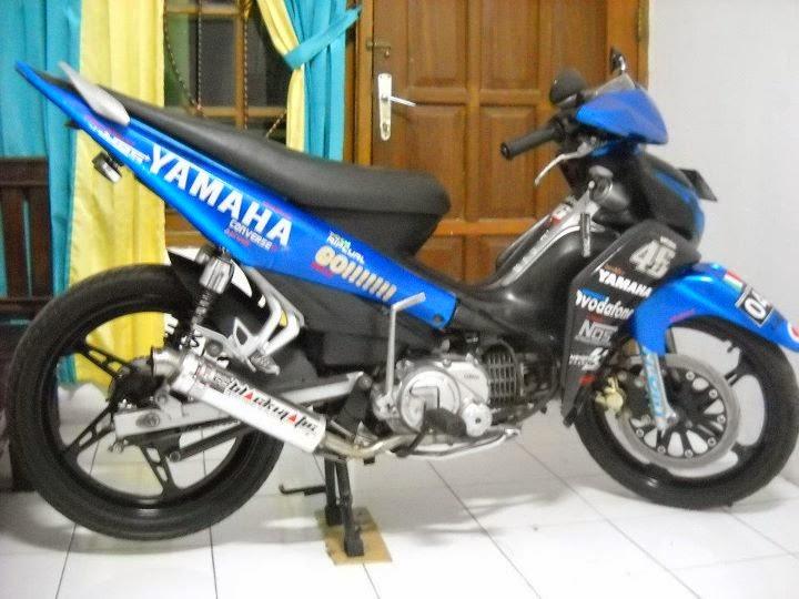Modifikasi Motor Yamaha New Jupiter Z CW 2011, 2012, 2013, 2014 Keren