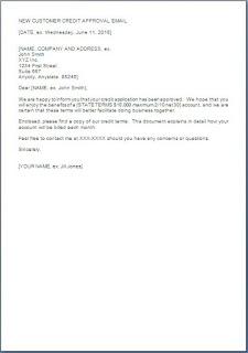 sample letter for new credit card application