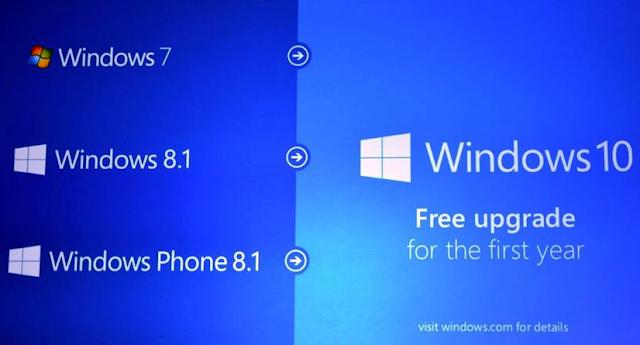 شرح كيفية ترقية ويندوز 7 أو 8 أو 8.1 الي ويندوز 10 الجديد مجاناً