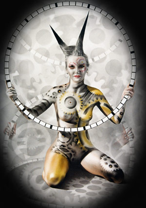 festival body painting