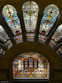 qvb stained glass