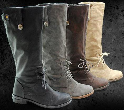 botas otoño invierno 2011 2012 mujer