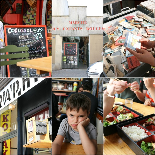 Paris Marais Marche des Enfants Rouges Essen mit Kindern in Paris