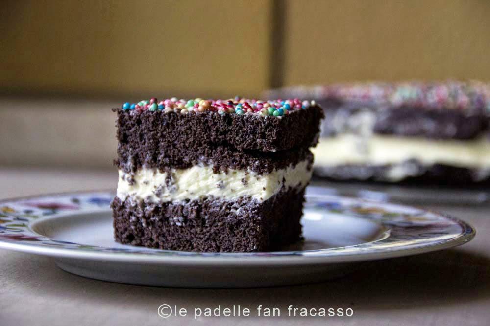 ricetta torta con crema diplomatica