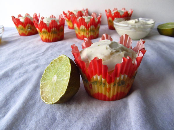 Key Lime Cupcake with Lime Cream Cheese Frosting
