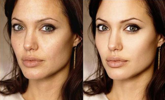 celebridades antes y despues de photoshop