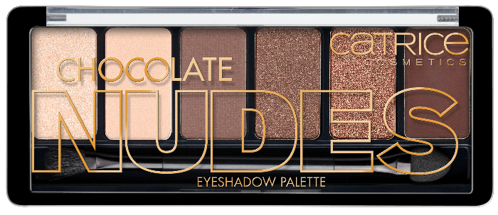 CATRICE Absolute Chocolate Nudes Eyeshadow Palette NEU