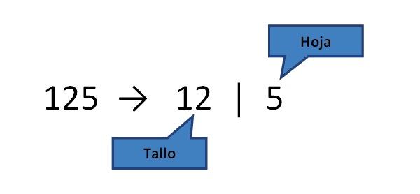 Temas de Estadística: Diagrama de Tallo y Hoja