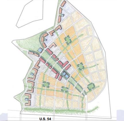 El Paso Development News June - Us 54 el paso map