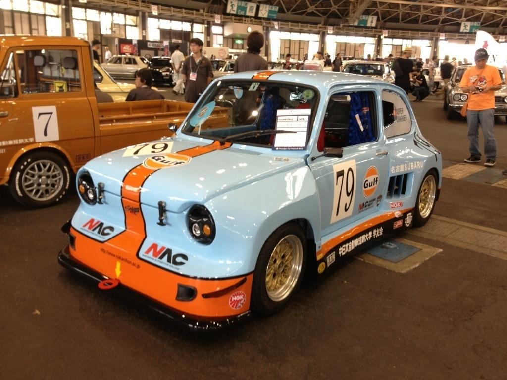 中日本自動車短期大学, 軽自動車, スバルR-2レーシングカー