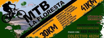 MTB - La Floresta (Canelones, 14/nov/2015)