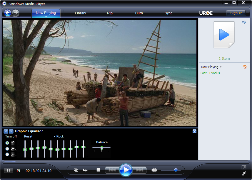 windows media player 11 software free  for windows xp