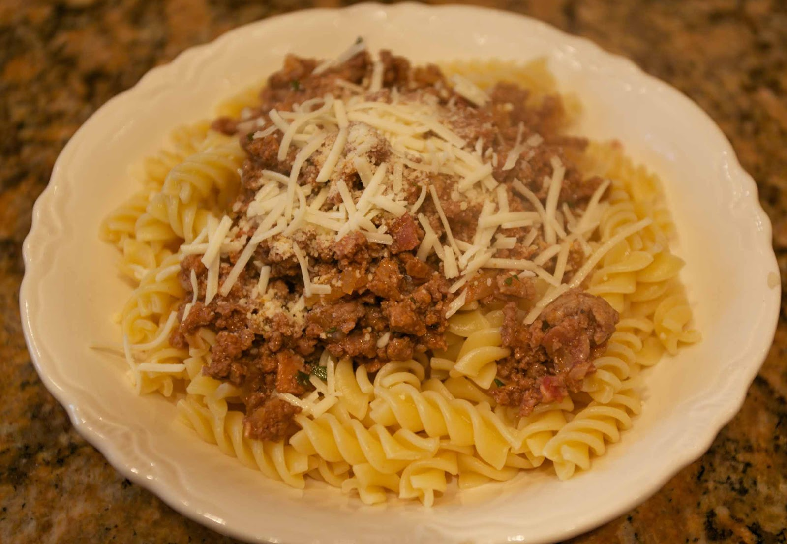 Authentic Sicilean Rosemary Meat Sauce