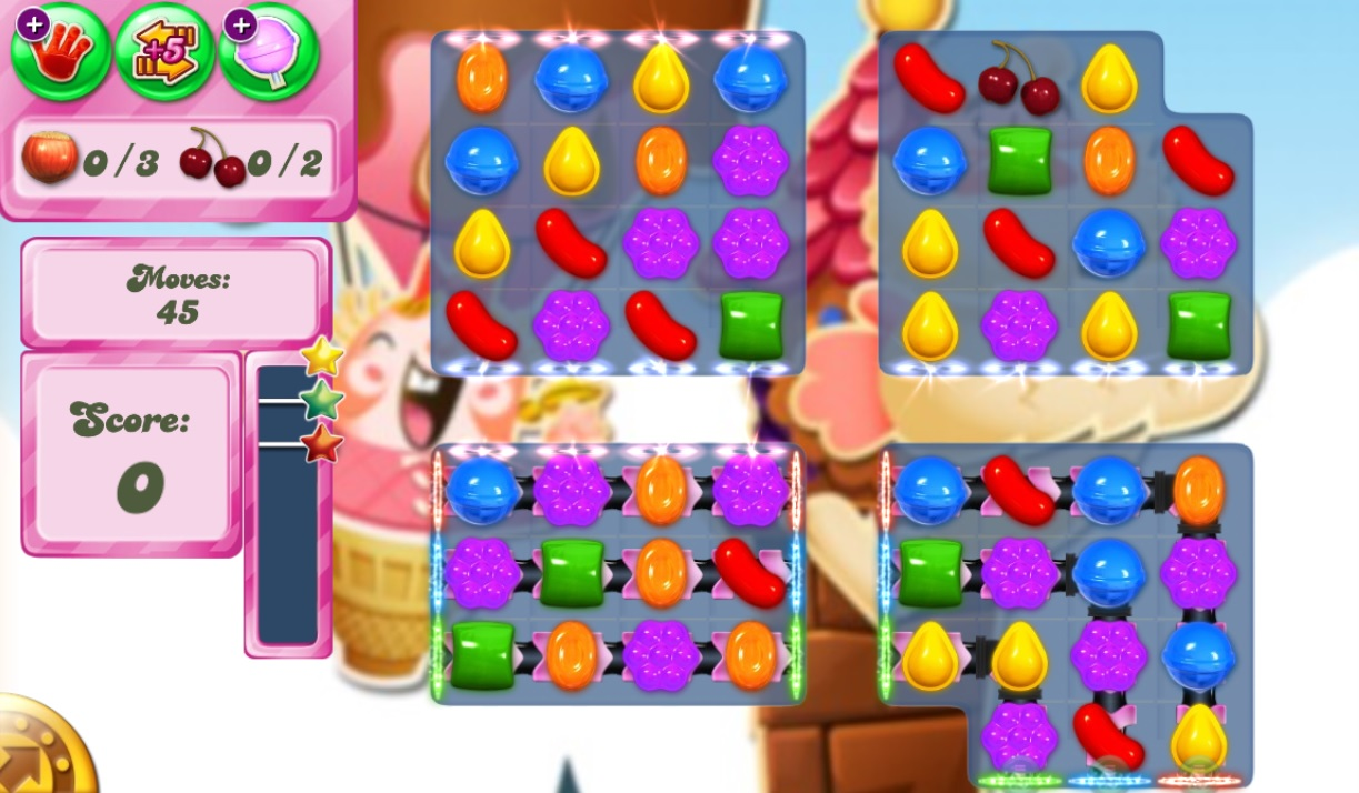 how to finish candy crush level 3335