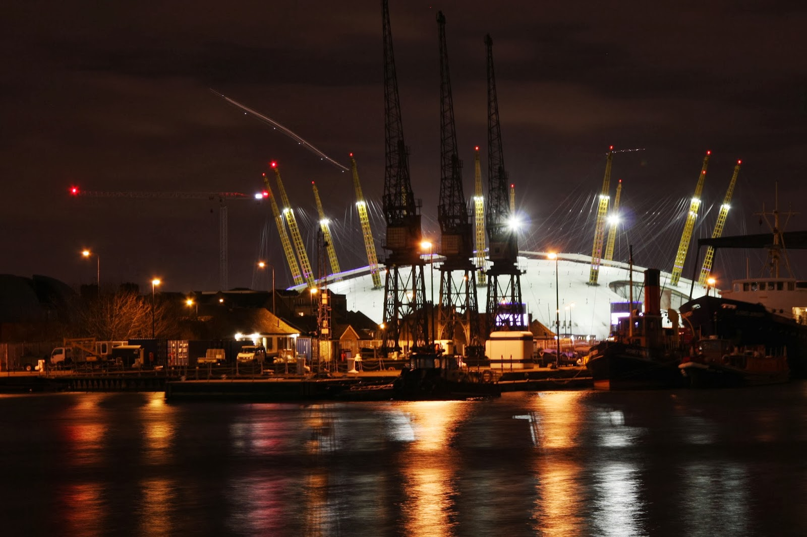 The O2 and Docks