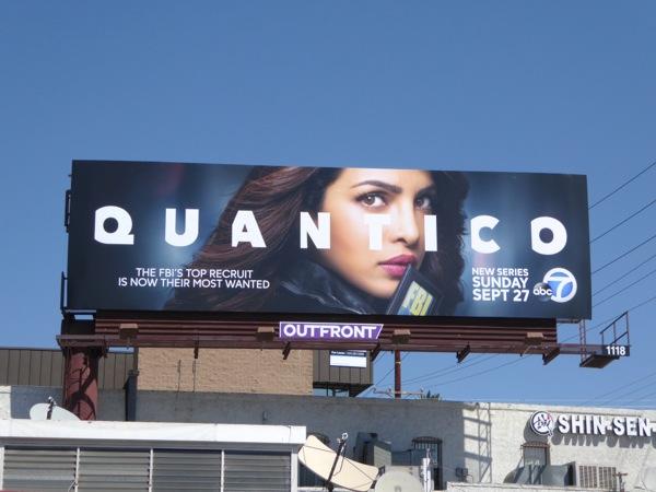 Quantico series premiere billboard