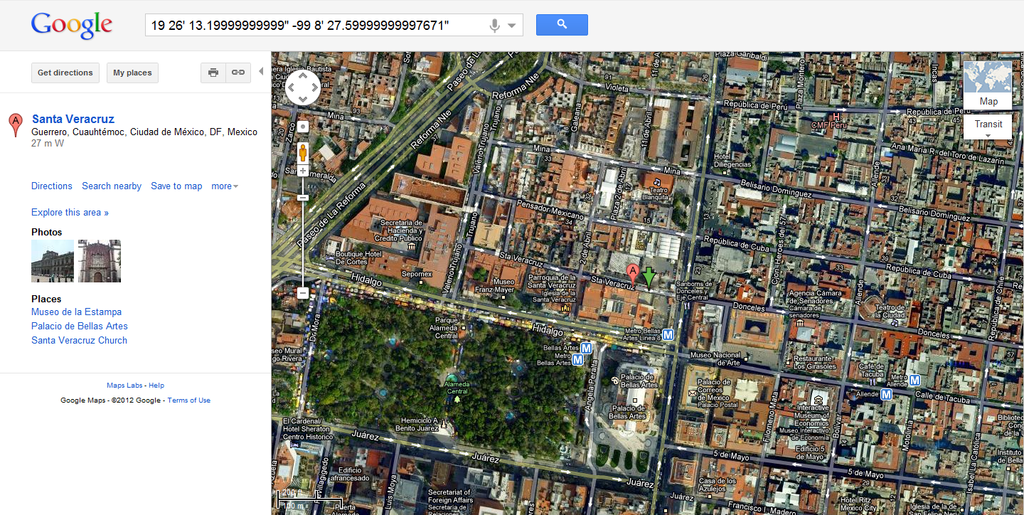 google maps can find a location using gps coordinates. simon pg edwards howto use gps coordinates with google maps