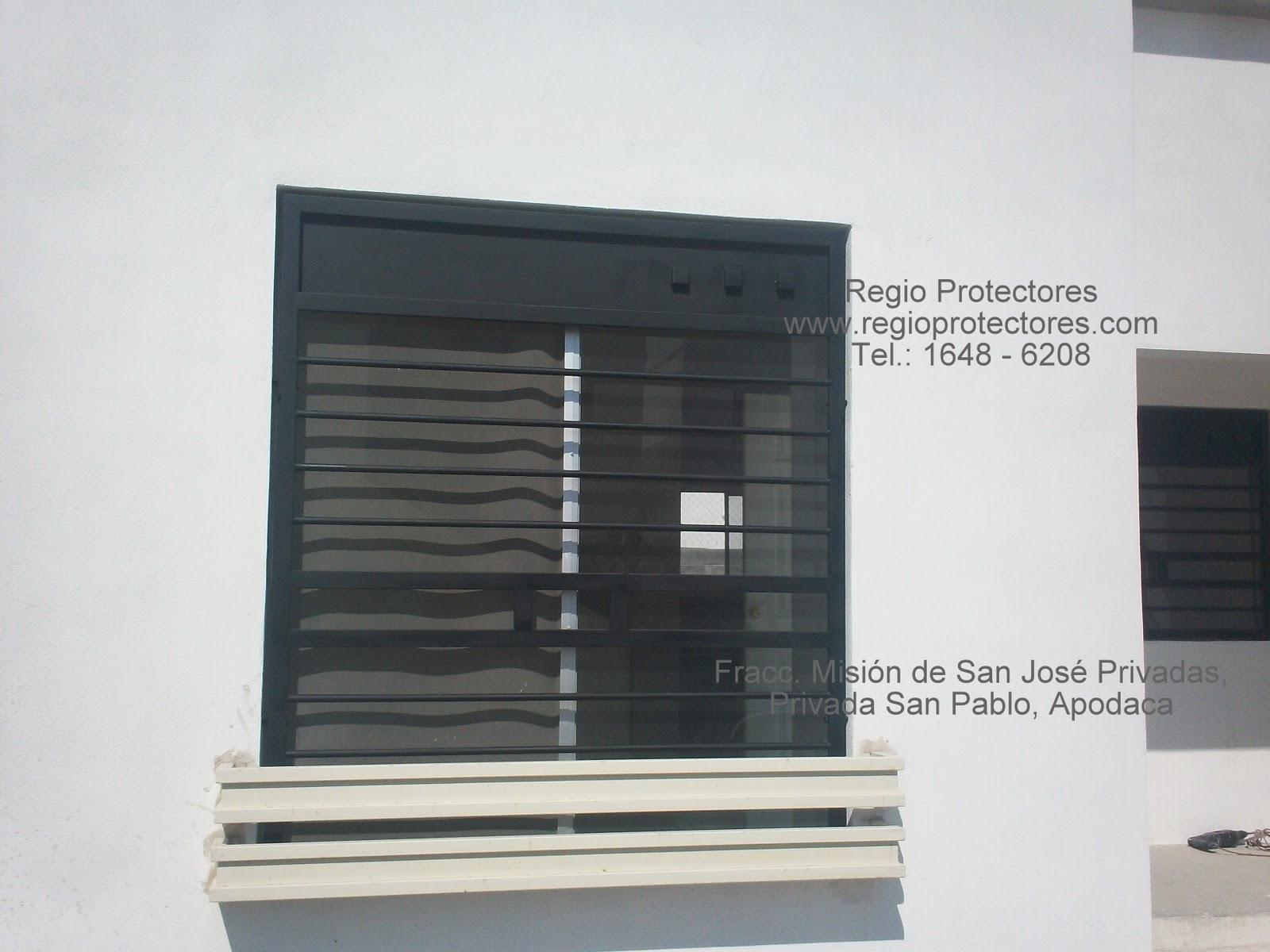 Protectores para ventanas, Fracc. Misión de San José Privadas 01