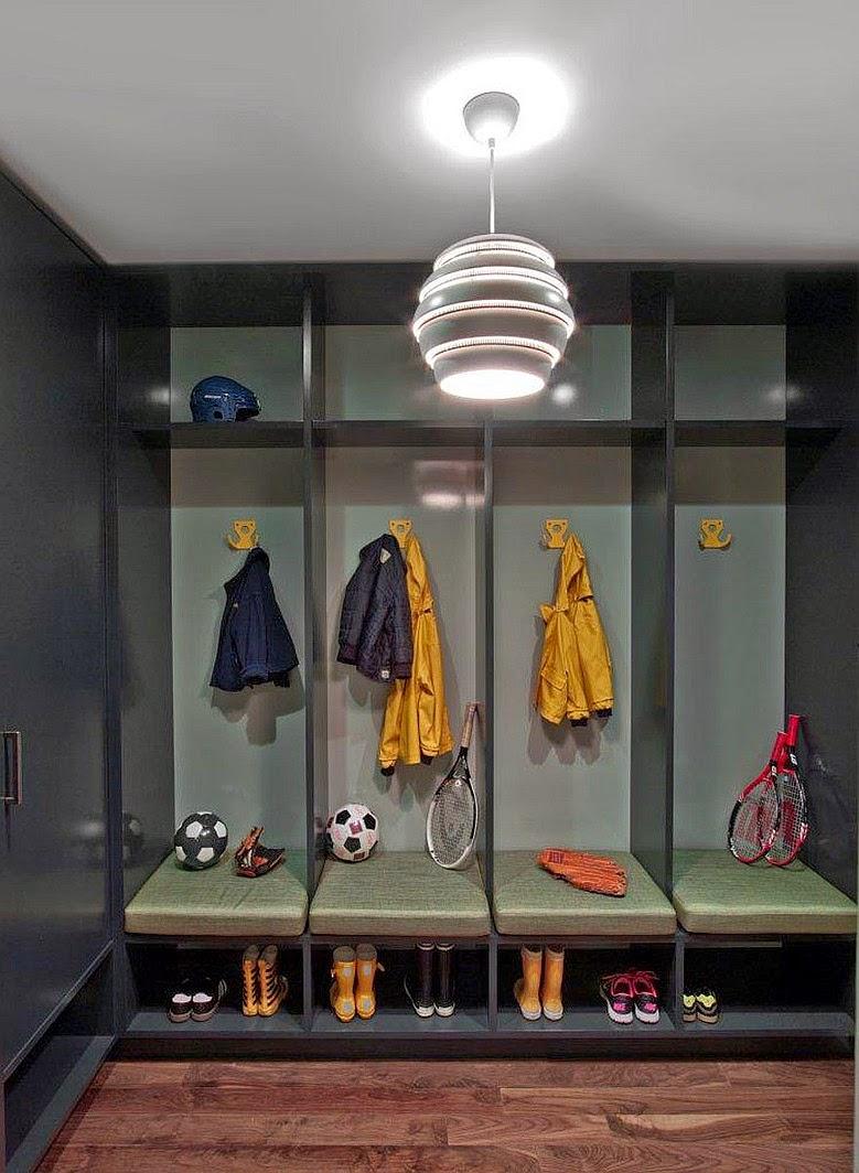 Leben und Wohnen mit Kindern - Flur Garderobe für jedes Kind