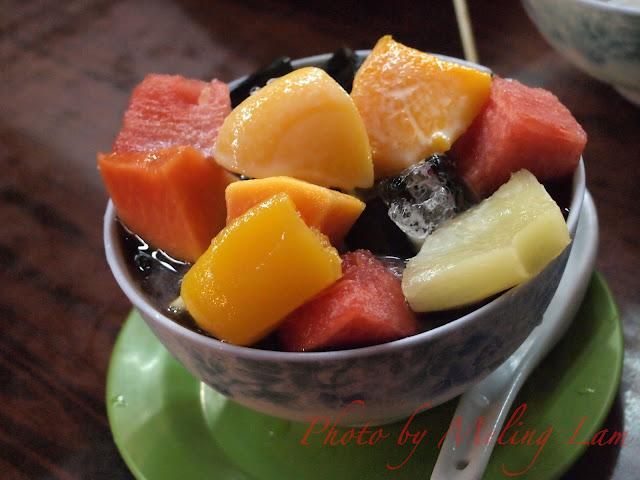 元朗 有益甜品 中式甜品 涼粉 紅豆冰