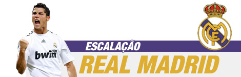 escalação do Real Madrid