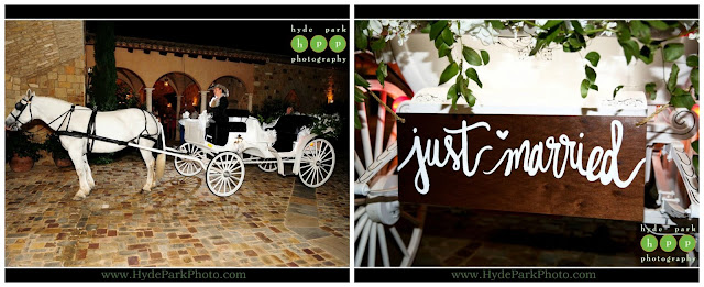 Horse and Carriage send off at Escondido Golf Club wedding by The Fairy Godmothers Weddings & Events