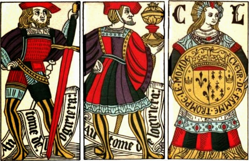 15th century French playing cards