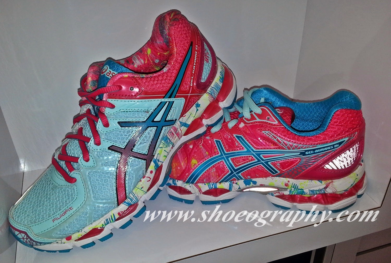 shoe of the day asics gel kayano 21 nyc gel nimbus 16. Black Bedroom Furniture Sets. Home Design Ideas