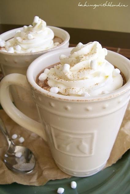 Heidi Adams: Baking With Blondie : Pumpkin Spice Hot Chocolate
