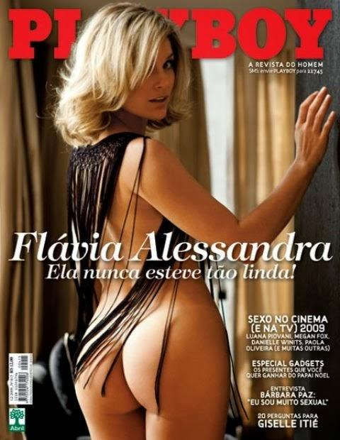 Flavia Alessandra pelada