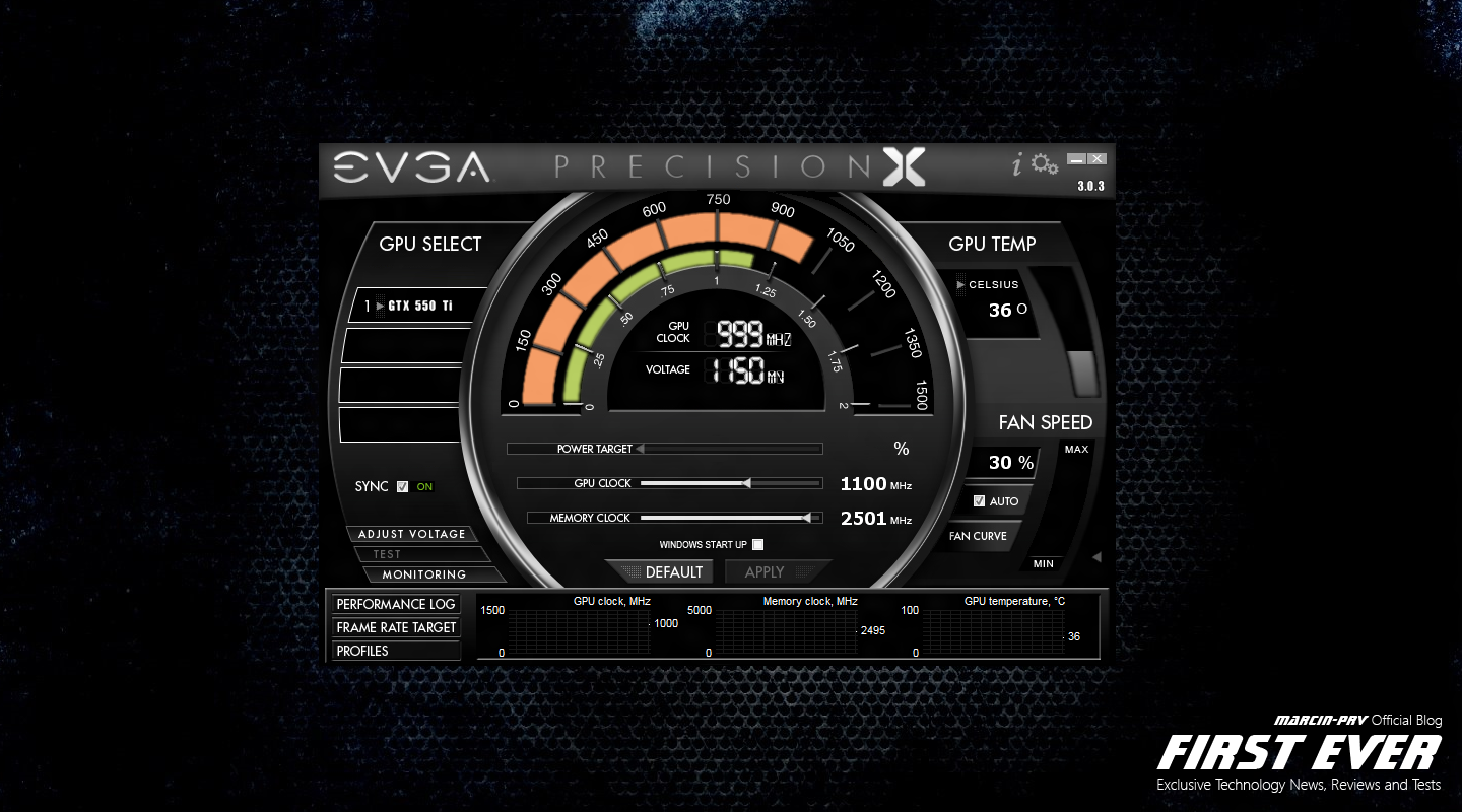 evga precision x software free download