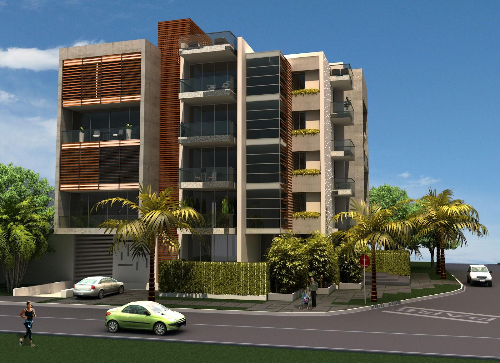 Diversificar s a constructora v rtika edificio boutique for Pisos de apartamentos modernos