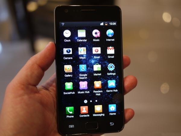 Samsung Galaxy S II Review stills