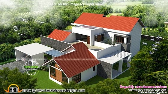 4 bedroom attached luxury house