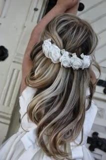Moda para peques peinados elegantes para ni as - Peinados sencillos para comunion ...