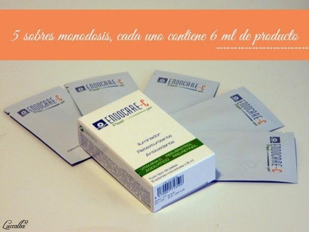 Endocare-C Peel Gel sobres