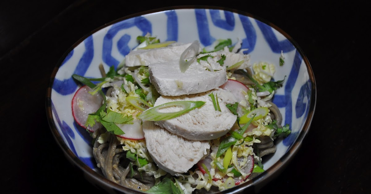 Slice of Rice: Mindy Fox's Peanut Soba, Cabbage and Chicken Salad