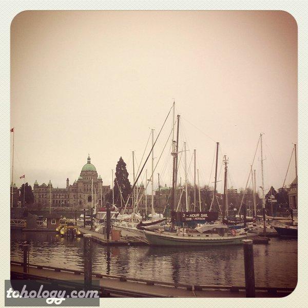 harbor in Victoria, British Columbia, Canada