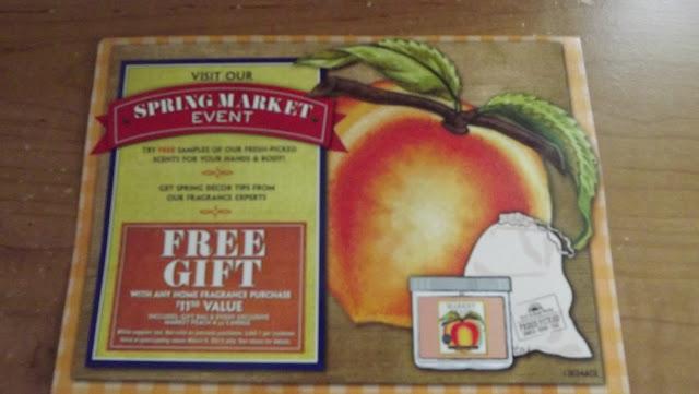 Spring Fresh Market Event  Flyer