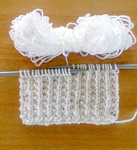 Easy Fancy Knitting Stitches : KNITIT: Free Fancy Knitting Stitch: No. 73
