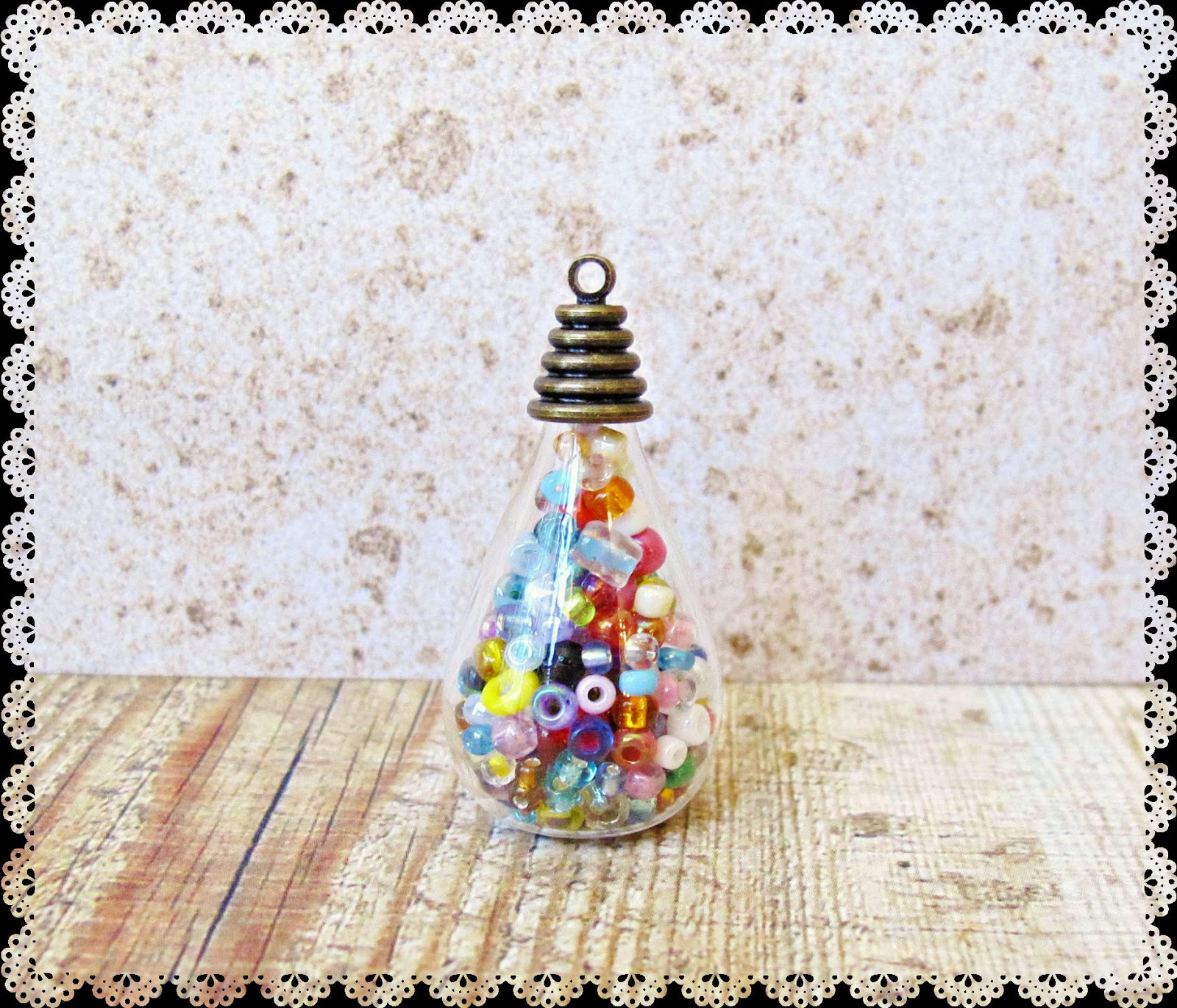 diy christmas bauble glass bottle miniature tutorial