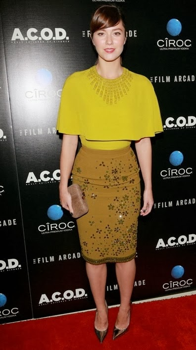 Spotted: Mary Elizabeth Winstead In Andrew Gn