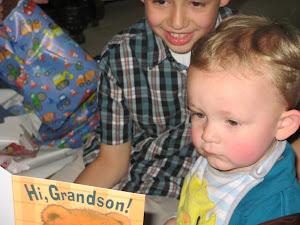 Grandson Christian Age 2
