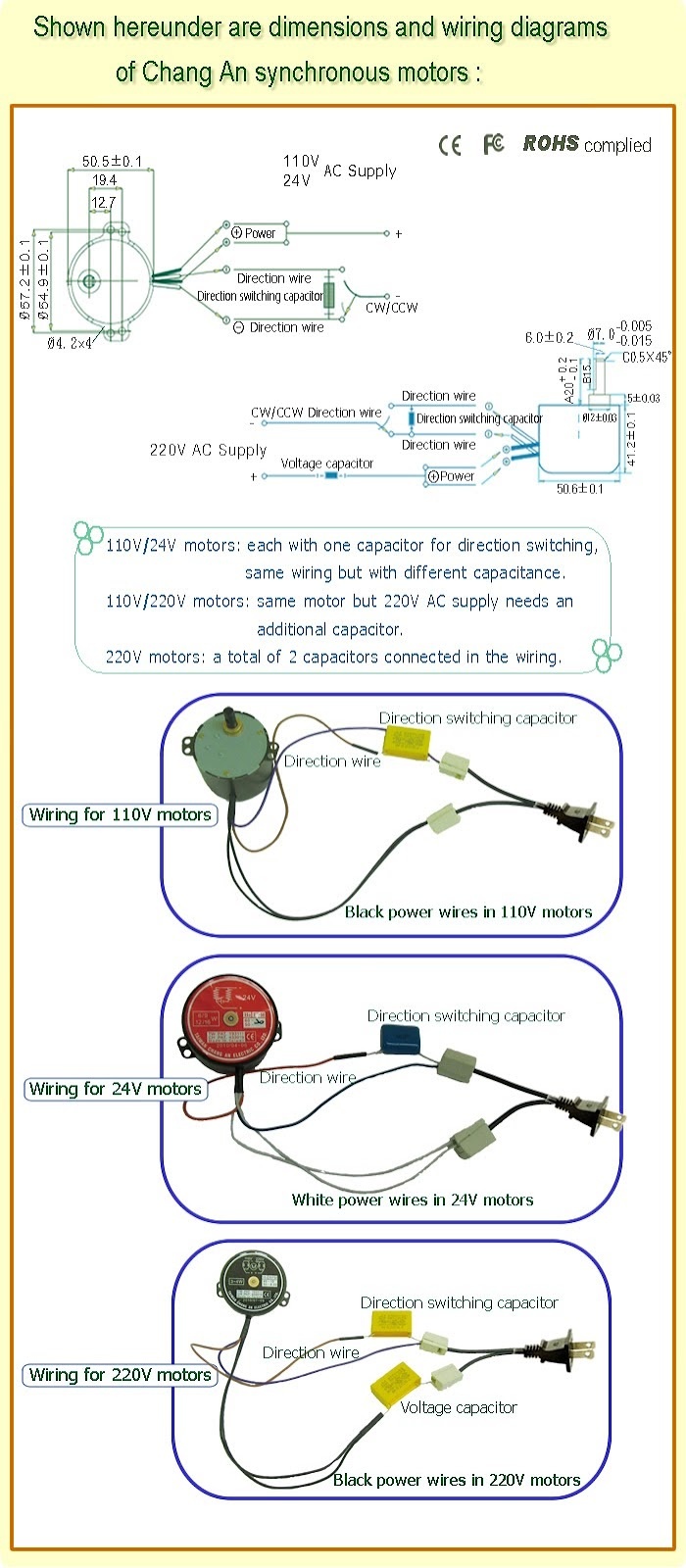 Start Capacitor Run Motor Wiring Diagram on baldor motor wiring connections