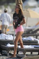 Lauren Stoner hot in pink shorts