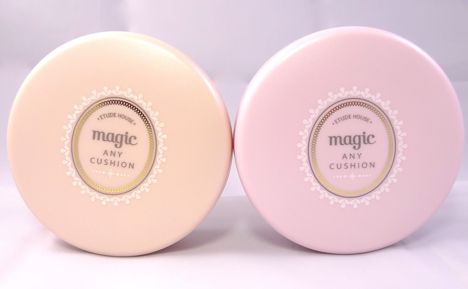 Etude House Precious Mineral Any Cushion in Magic Pink and Magic ...