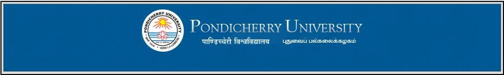 BTech First Semester Result PONDICHERRY UNIVERSITY   PONDICHERRY