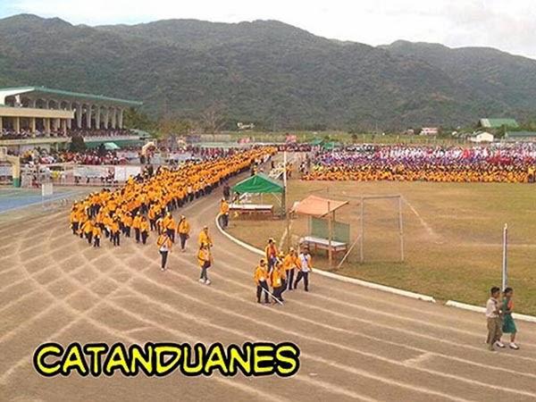 Palarong Bicol 2014 Catanduanes Delegation