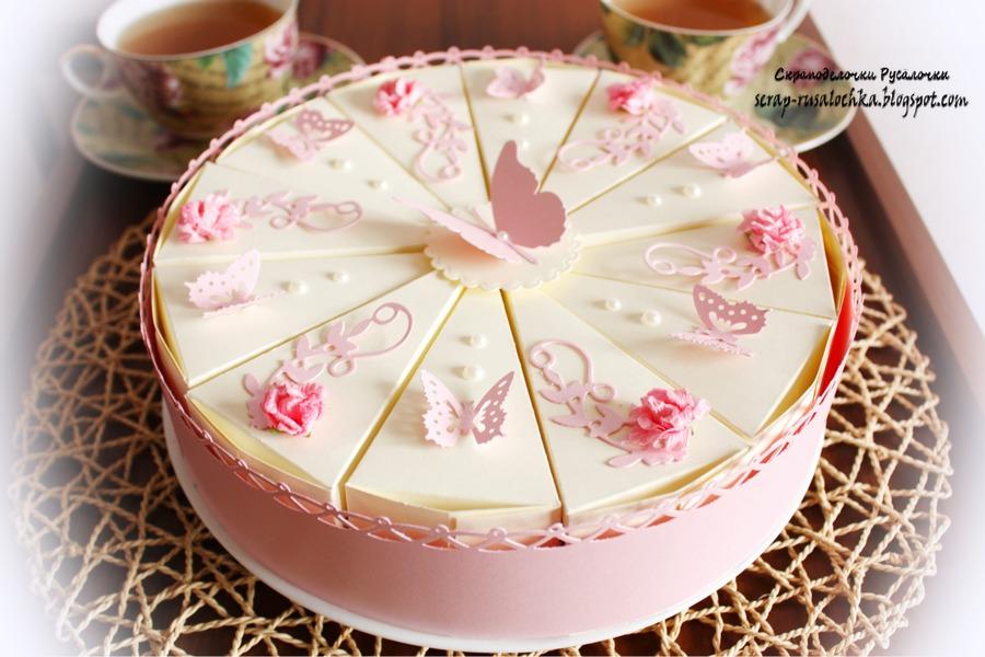 Бумажный торт своими руками как украсить